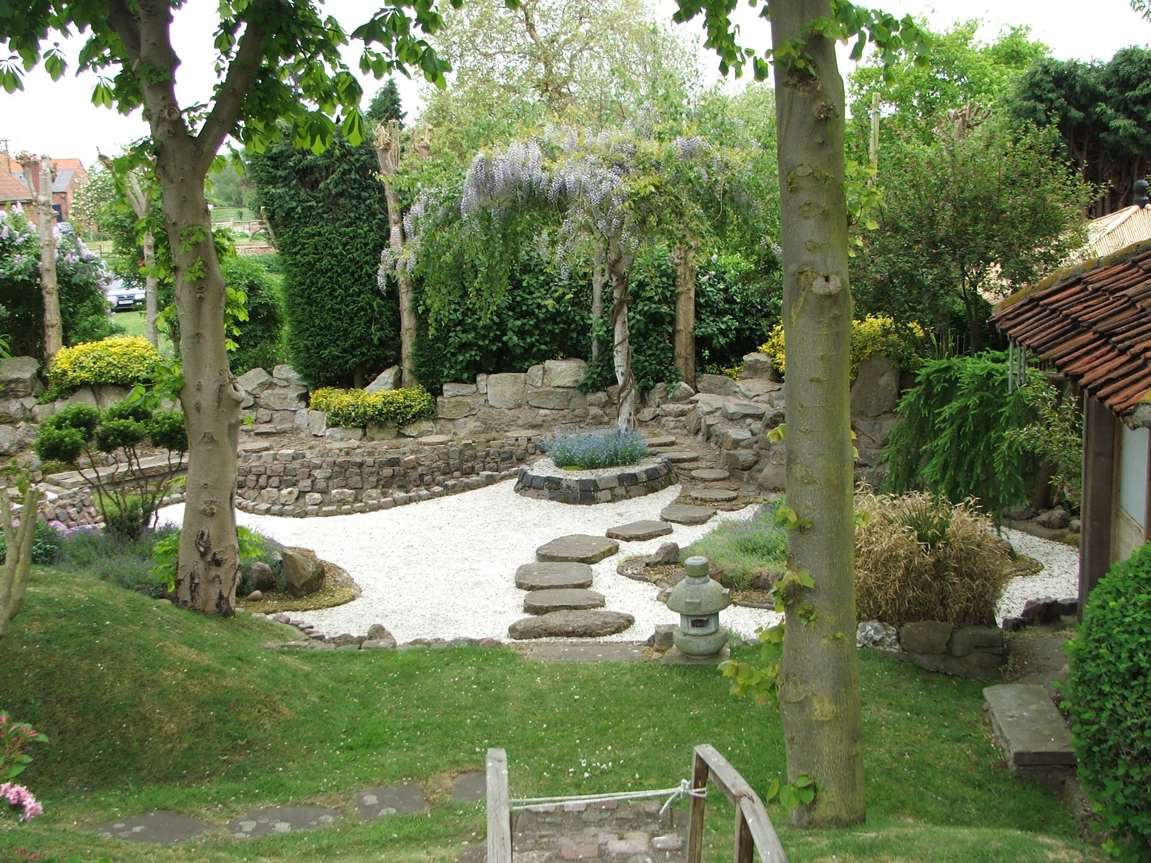 Le jardin japonais le paysagiste for Japanese garden plans and plants